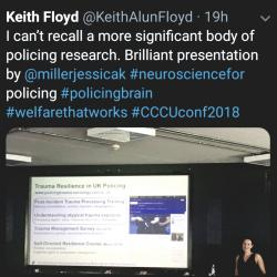 Read more at: Taming the Brain: Neuroscience in partnership with policing 2018